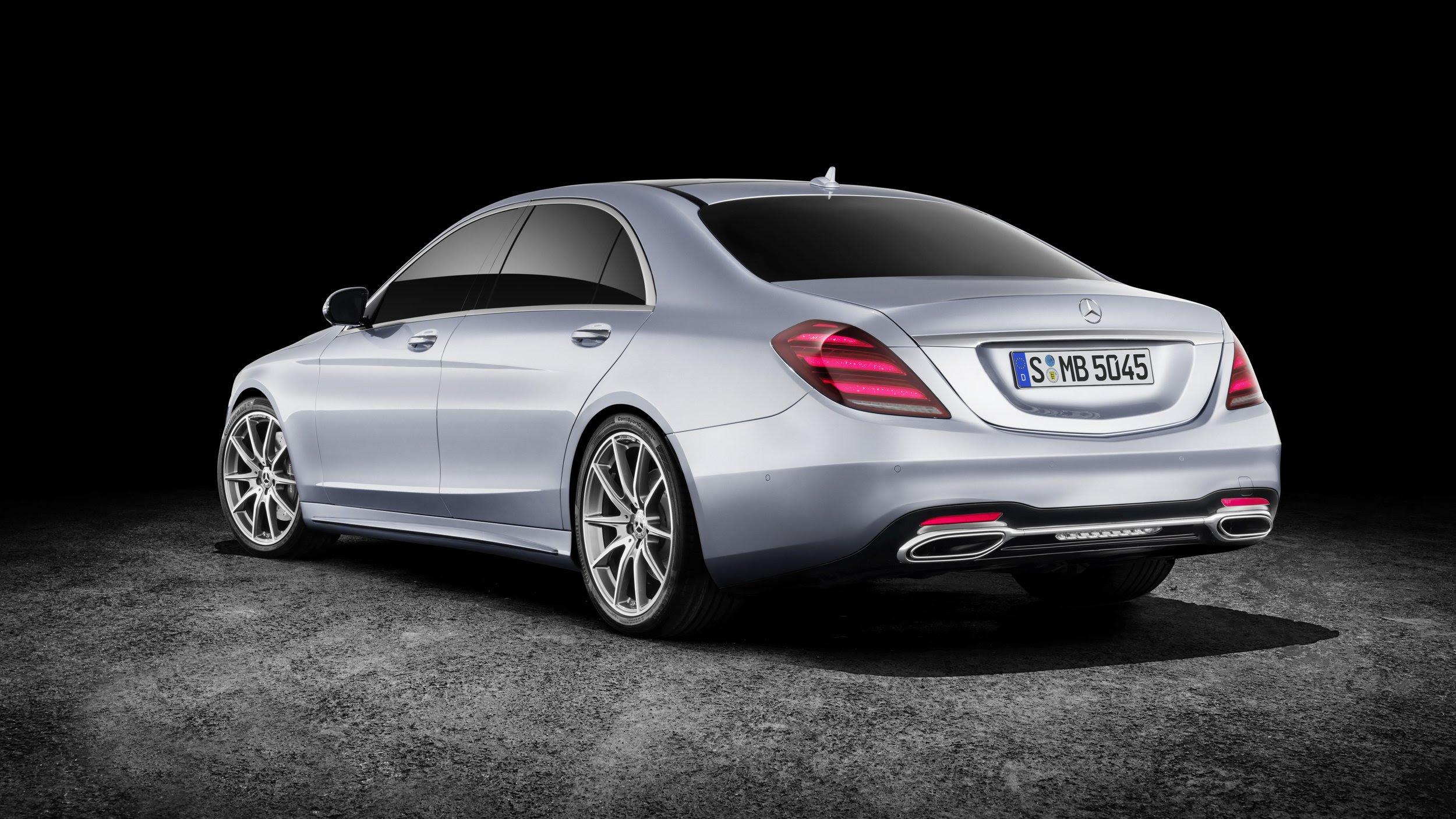 2018 Mercedes-Benz S-Class - Photos, Details, Specifications