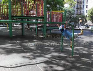 Preschool Playground Olympic Training