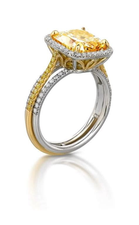 43 best Yellow Diamonds & Canary Engagement Rings images