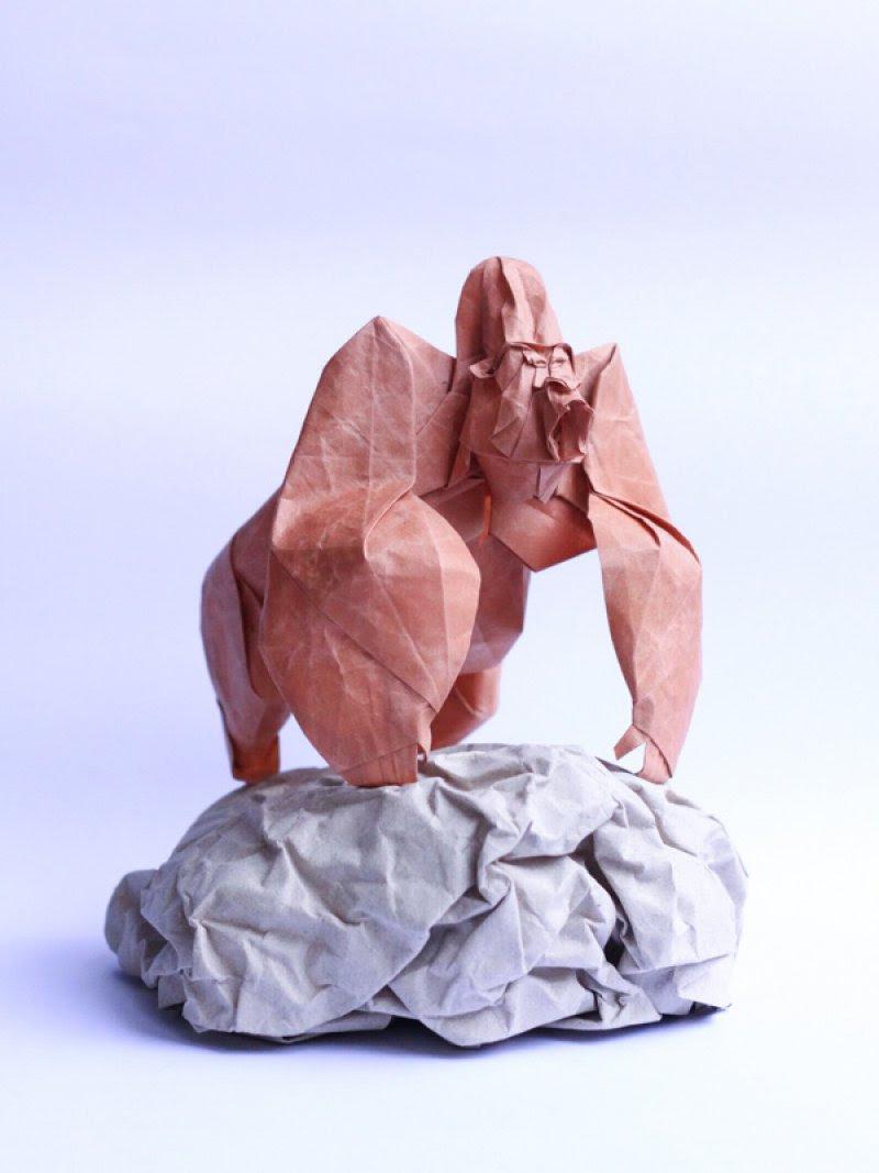 Os incríveis origamis de Nguyen Hung Cuong 01
