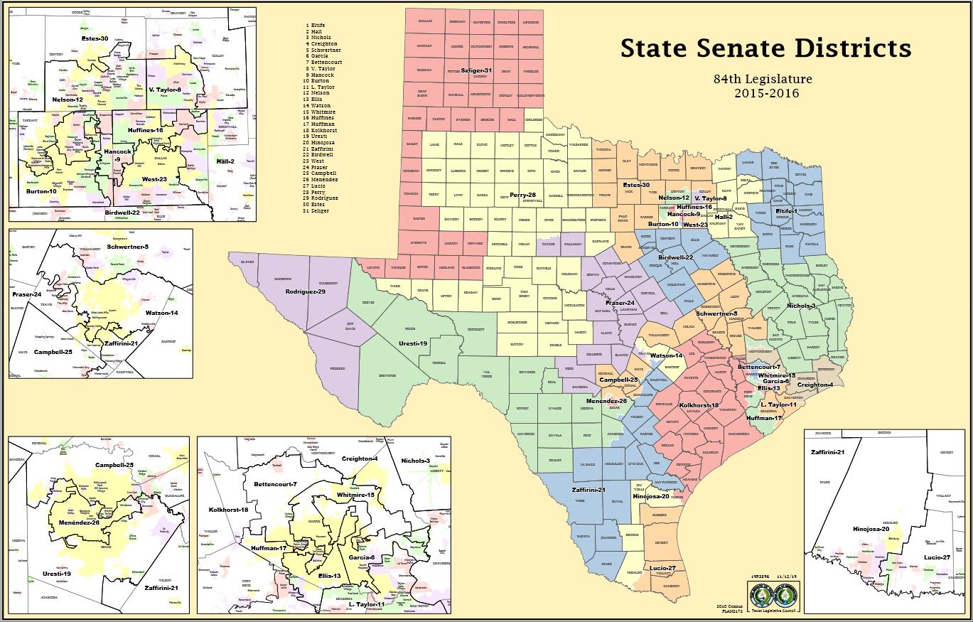 Texas Senate District Map Texas Senate District Map | Bedroom 2018