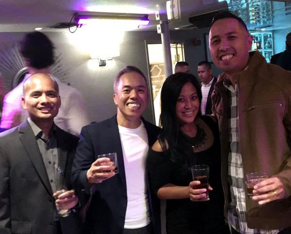 Glen, Jane, Alfred and I pose for a group photo aboard the Endless Dreams during our 20-year high school reunion...on October 6, 2018.
