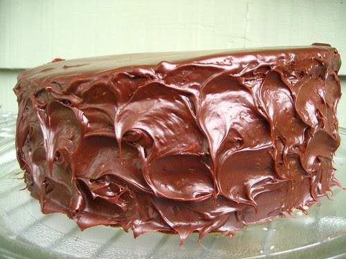 Chocolate Strawberry Cake