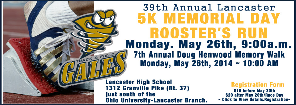 5K Memorial Day Rooster's Run - Doug Henwood Memory Walk