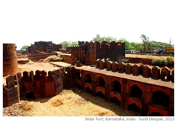 Bidar fort, Karnataka, India - images by Sunil Deepak