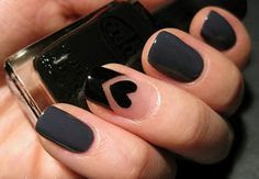 if other nails were black this would be sooo cute