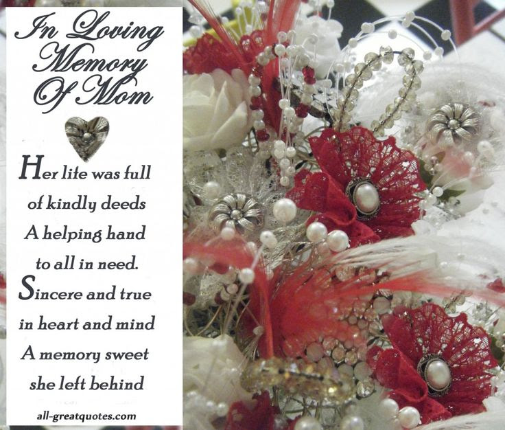 Imágenes De In Loving Memory Of Mom Quotes