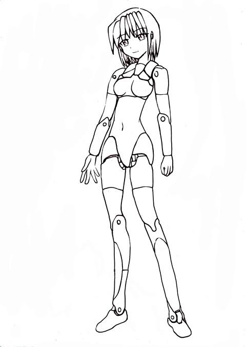 カタリナリナ武装神姫ブログ オリジナル武装神姫素体画像