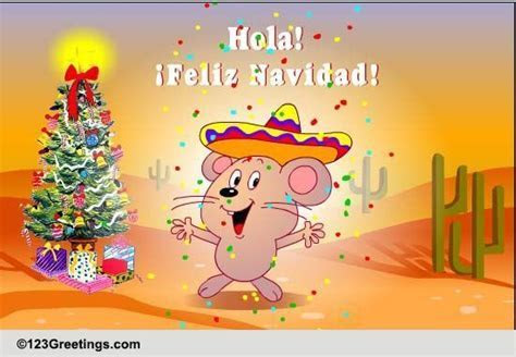 Hola! It's Christmas! Free Spanish eCards, Greeting Cards