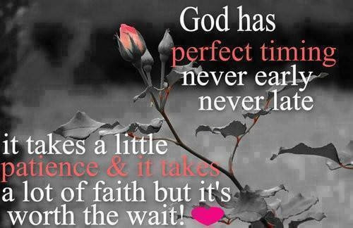 God Has Perfect Timing Pictures Photos And Images For Facebook