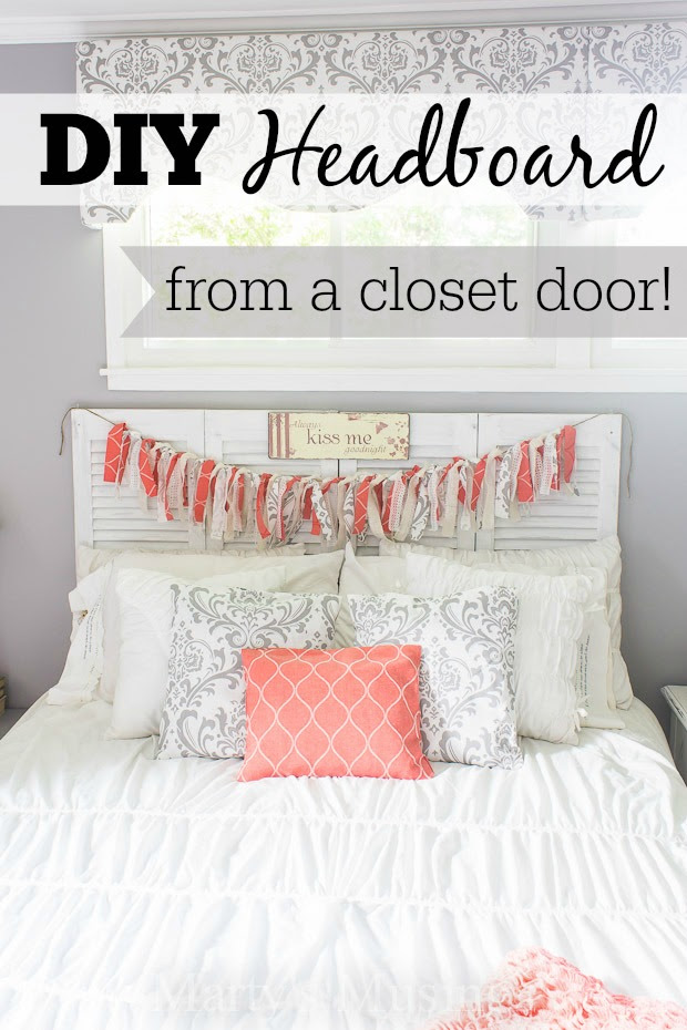 DIY Headboard from a Closet Door - HMLP 41