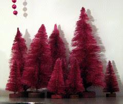 magenta trees