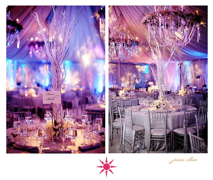 Winter wedding centerpieces wedding decorations winter wedding centerpieces junglespirit Image collections