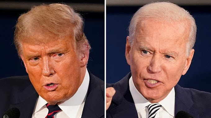 Stock futures drop after Trump-Biden debate