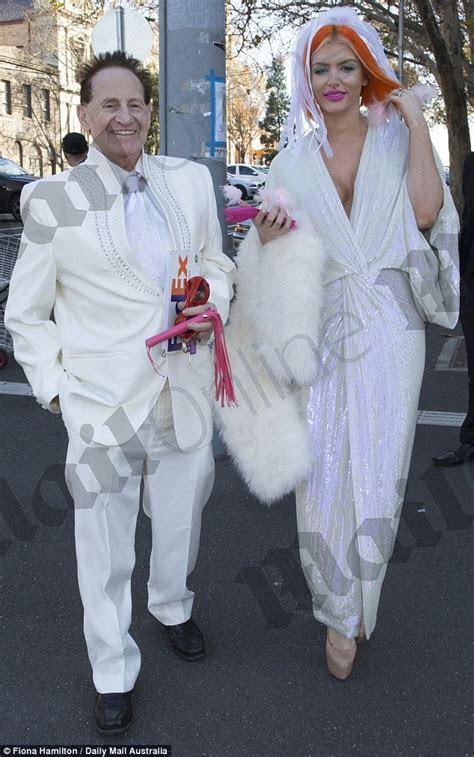 Gabi Grecko marries Geoffrey Edelsten in 'tacky Vegas