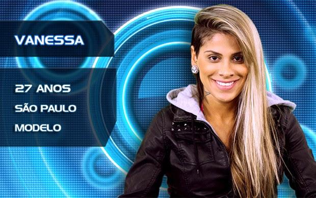Vanessa (Foto: TV Globo/BBB)