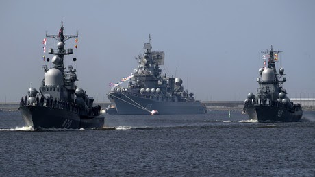 Kremlin points to 'terrorists in Idlib' when asked about massive naval drill near Syria's shores