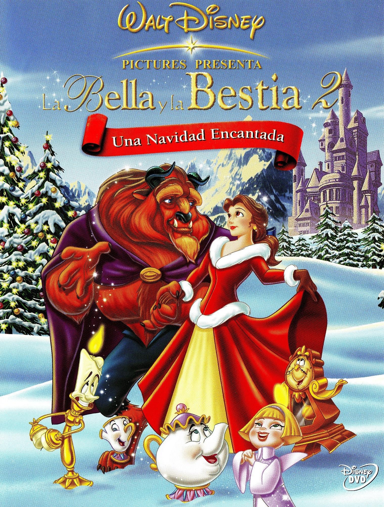Resultado de imagen para la bella y la bestia una navidad encantada
