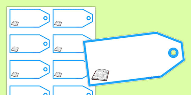 Book Shop Editable Price Tags - book shop, book shop role play