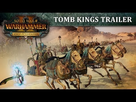 Tomb Kings Announced for Total War Warhammer II