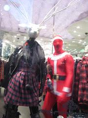 Morph Santa - in shop again - Santacon 2011