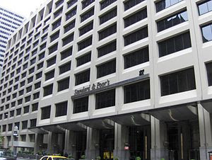 Standard & Poor's Headquarters in Lower Manhat...