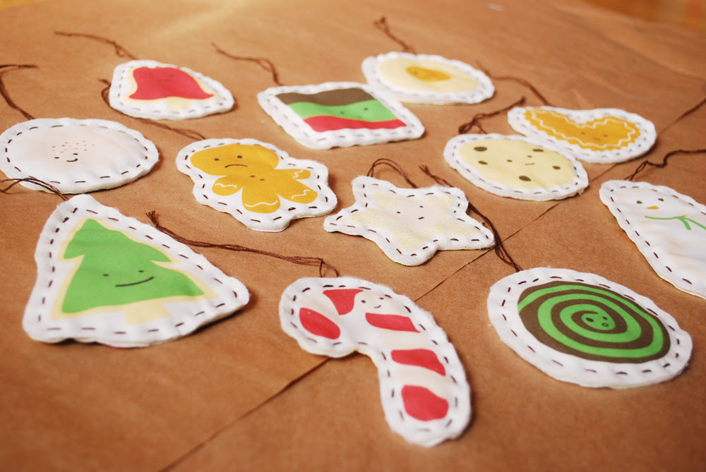 cookie ornaments!