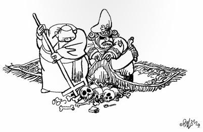 Langer y Palomo, Satánicos   Comiqueando Online