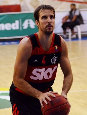 Marcelinho Flamengo Basquete (Foto: Danilo Sardinha/GloboEsporte.com)