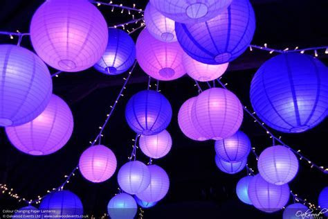 Disco Lanterns   Wedding and Event Lighting by Oakwood Events