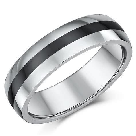 Platinum Wedding Rings & Bands: Classic Platinum Rings