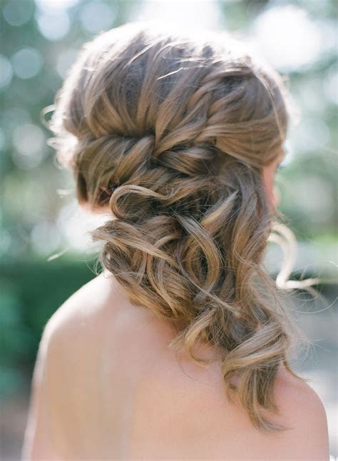 25  best ideas about Bridesmaid Side Hairstyles on