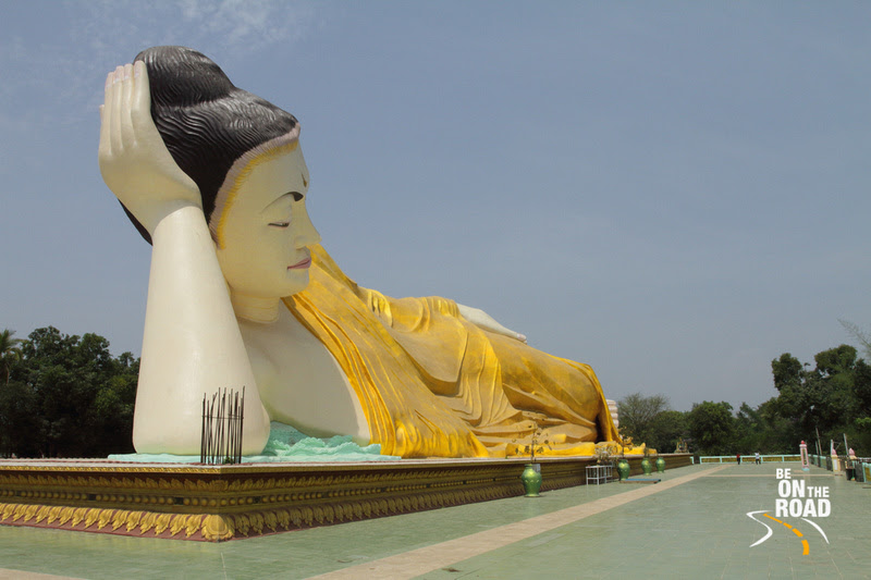 BE ON THE ROAD Travel Photography | Sankara Subramanian C: Bago &emdash; Sleeping Buddha at Bago, Burma