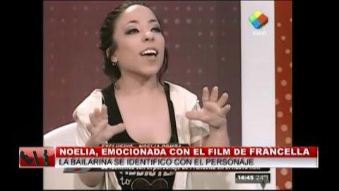 Noelia Pompa en Intrusos