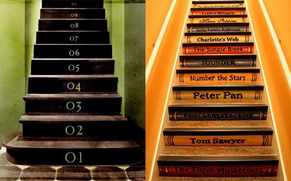 Stair Riser Decor Ideas | Modern Interiors