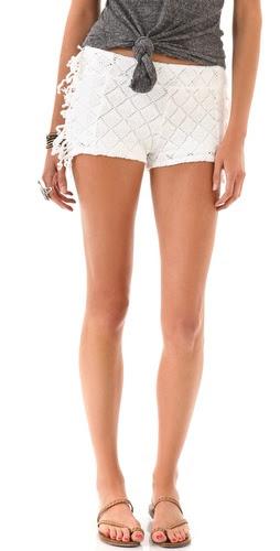 Nightcap Clothing Fringe Shorts