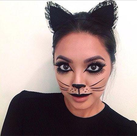 15 Best Halloween Cat Makeup Looks & Ideas 2016   Modern ...