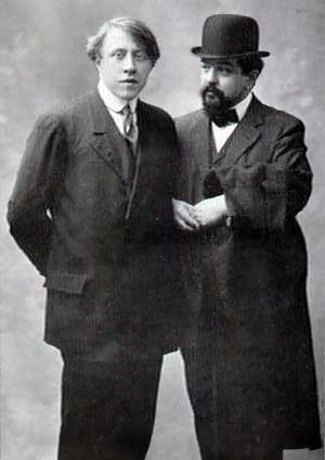 André Caplet with Claude Debussy