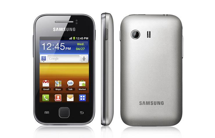 Samsung Galaxy Y (Foto: Divulgação)
