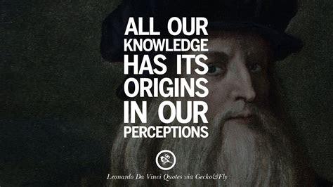 Leonardo Da Vinci Quotes Art Science