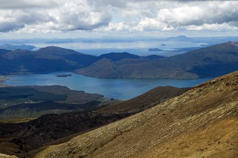 Lake Rotoaira & Lake Taupo, Tongariro National Park, New Zealand
