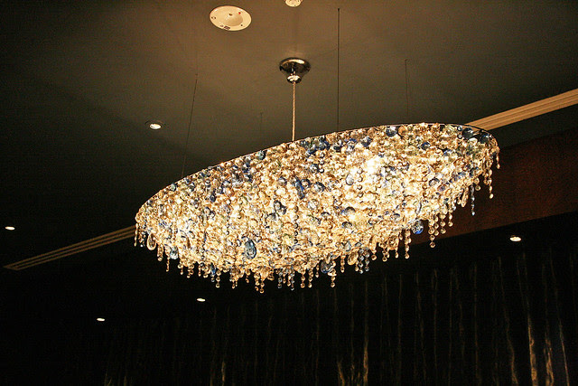 Gorgeous crystal lighting fixture