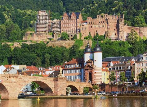 Heidelberg Castle, Germany jigsaw puzzle in Bridges