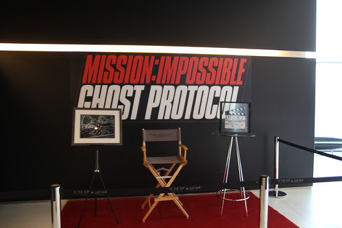 Mission Impossible: Ghost Protocol was shot in Burj Khalifa