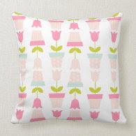 Spring Tulip Pillow