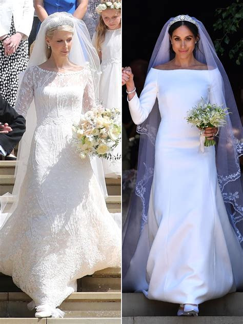 Meghan Markle and Kate Middleton's Wedding Gowns