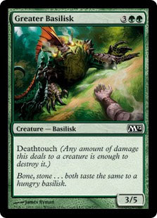 Basilisk | Green Deck | Tacky Harper's Cryptic Clues