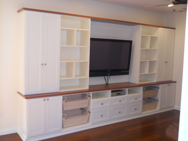 Play Room/Media Room - traditional - kids - hawaii - by Organized ...