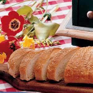 Sesame French Bread Recipe | Taste of Home