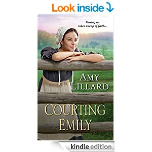 cover of the book Courting Emily (amish girl)